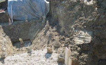 scavi di preparazione