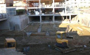 scavo per lavori edili