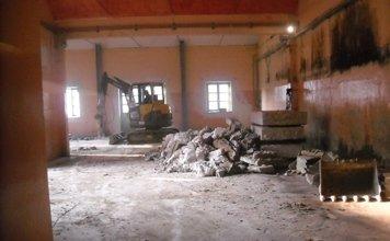 demolizioni interne di edifici