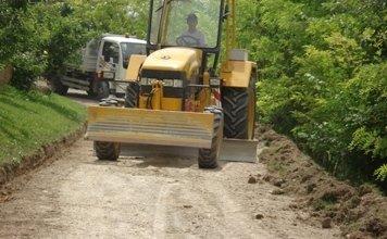 lavorazioni strade asfaltate