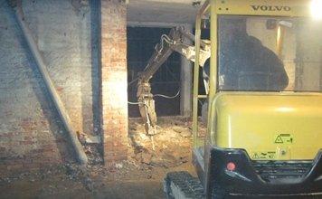 demolizioni interne di strutture