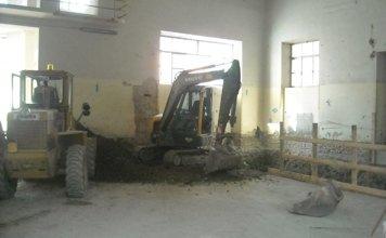 scavi per interni