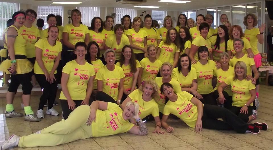 ladies dressed in yellow