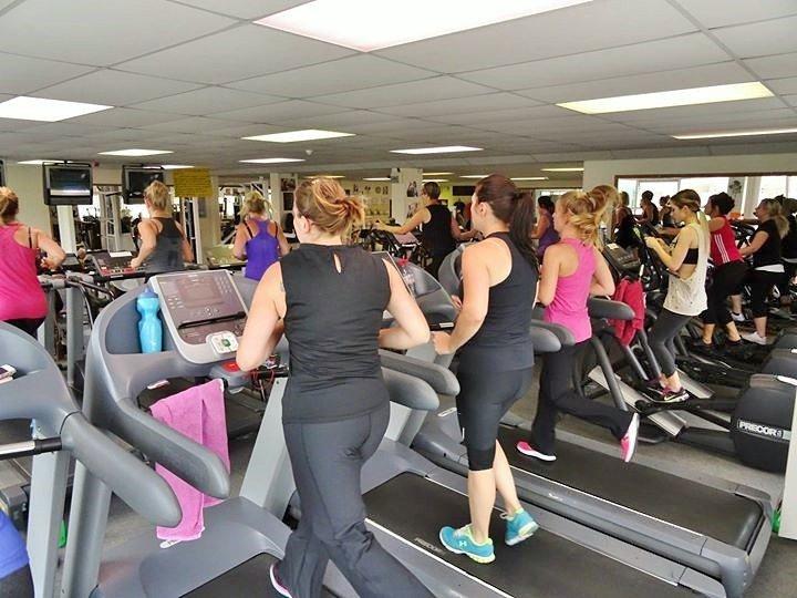 ladies on the treadmill