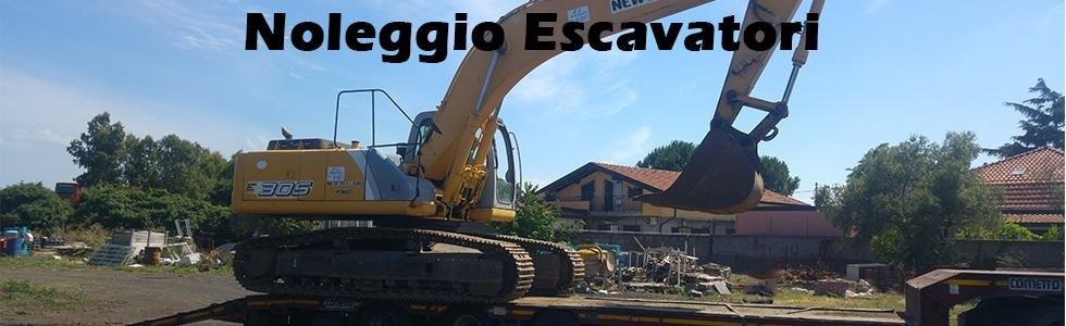 noleggio escavatori catania