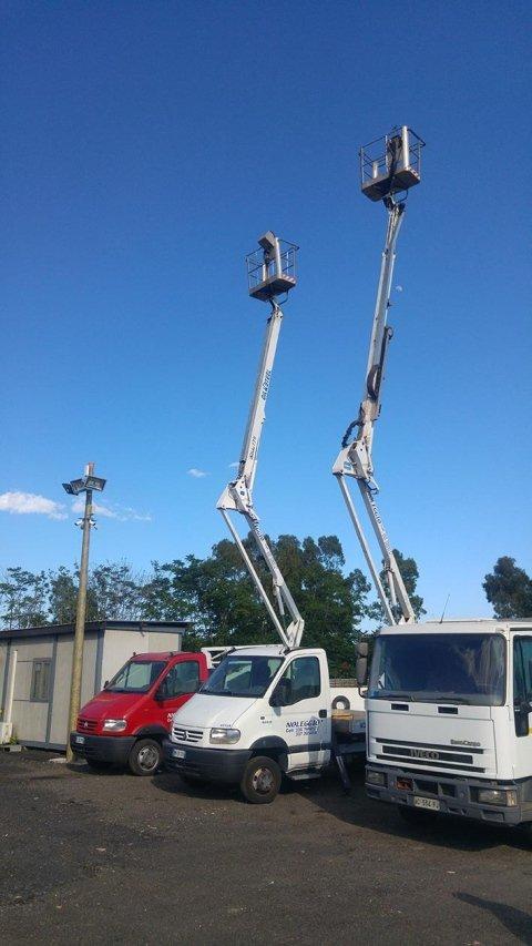 noleggio di scale aeree catania
