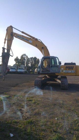 noleggio escavatore con martello demolitore catania