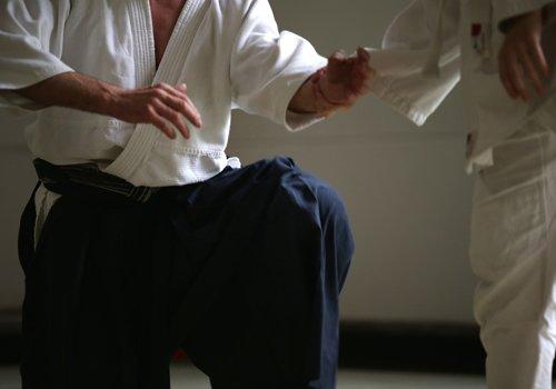 due persone mentre fanno allenamento