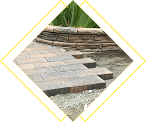patio laying