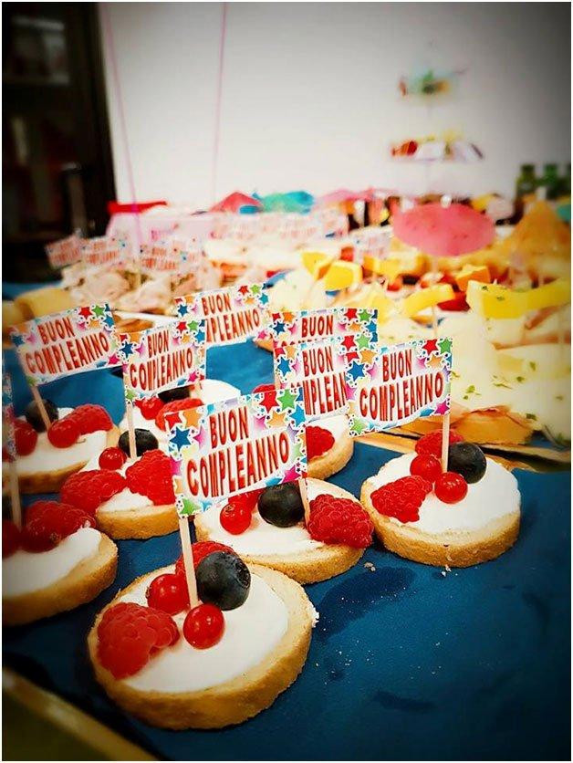 Pasticcini per festa di compleanno