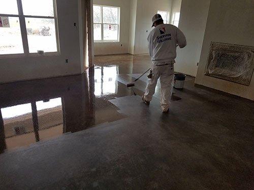 Concrete Staining Contractor Abilene, TX