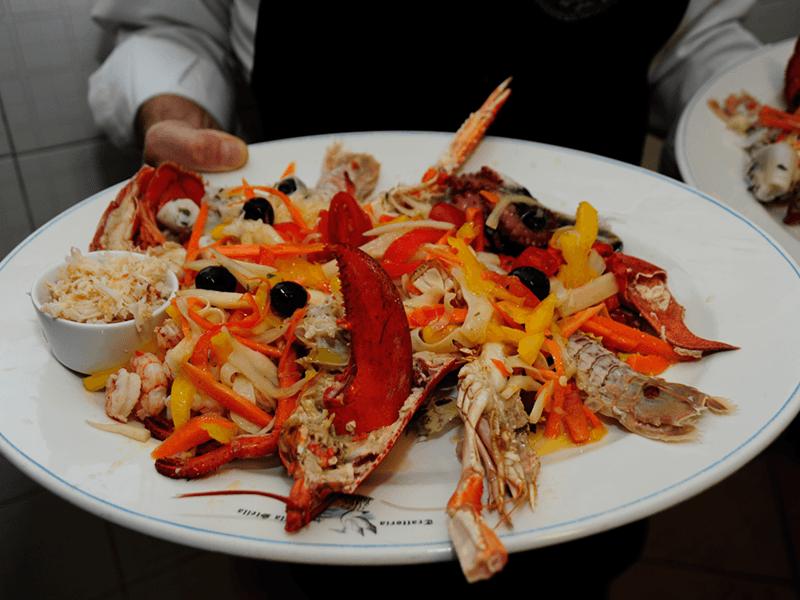 cucina pesce venezia