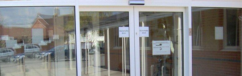 Automatic doors - Nationwide, Sheffield, Birmingham, London - CRB Door Systems