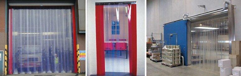 PVC strip curtains - Nationwide, Sheffield, London, Glasgow - CRB Door Systems