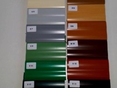 colori tapparelle pvc