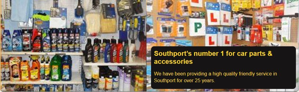For car accessories in Southport, Merseyside call 01704 224 111