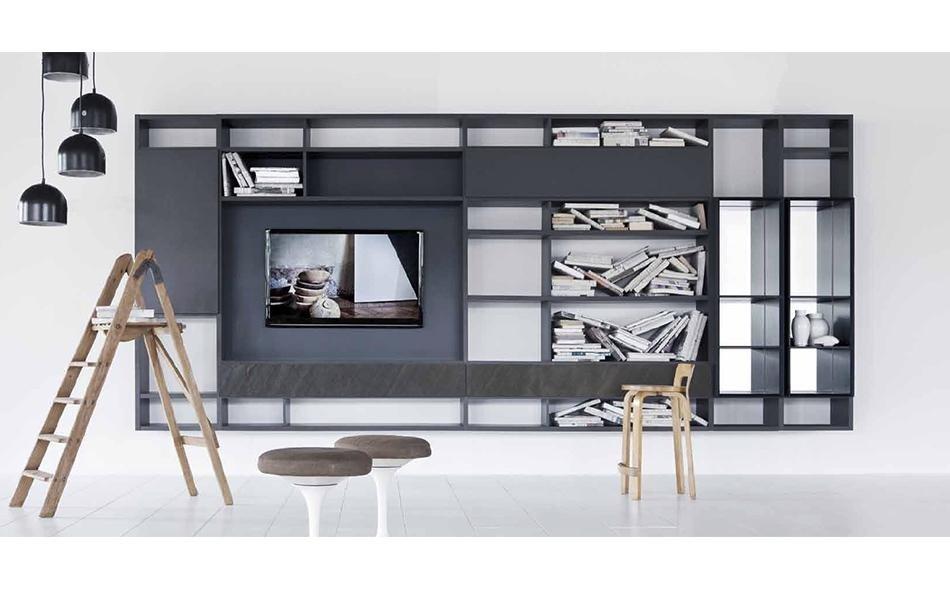 Soggiorni moderni pietra ligure mobili panaro for Soggiorni moderni componibili