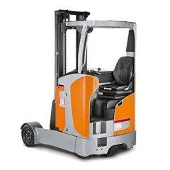 carrello retrattile arancione