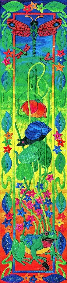A Midsummer's Dream Pattern by Suzanne Marshall, a Quilt Maker