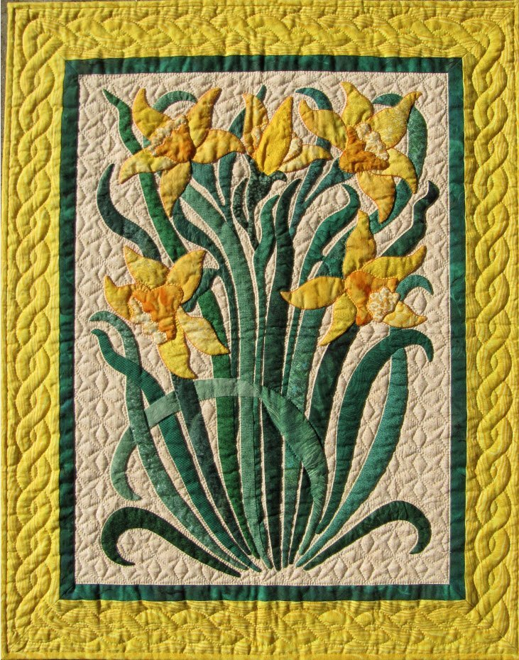Daffodils Pattern by Suzanne Marshall