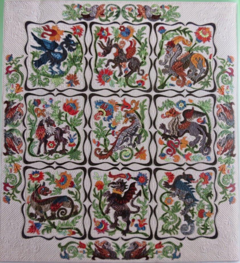Deruta Pattern by Suzanne Marshall, a Quilt Maker