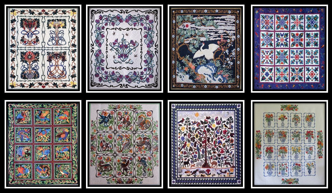 Suzanne Marshall Quilt Samples
