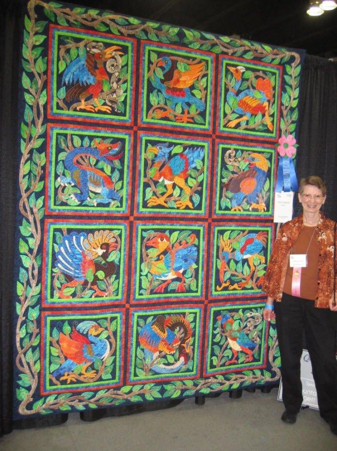 About Suzanne Marshall | International Award Winning Quilt Artist
