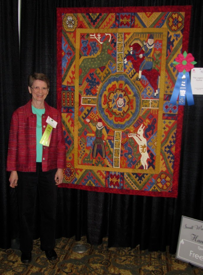 Suzanne Marshall, Award winning quilt maker