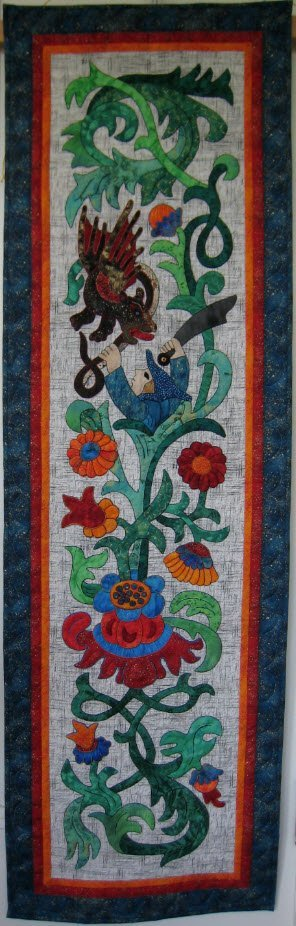 Dragon Slayer Pattern by Suzanne Marshall, a Quilt Maker