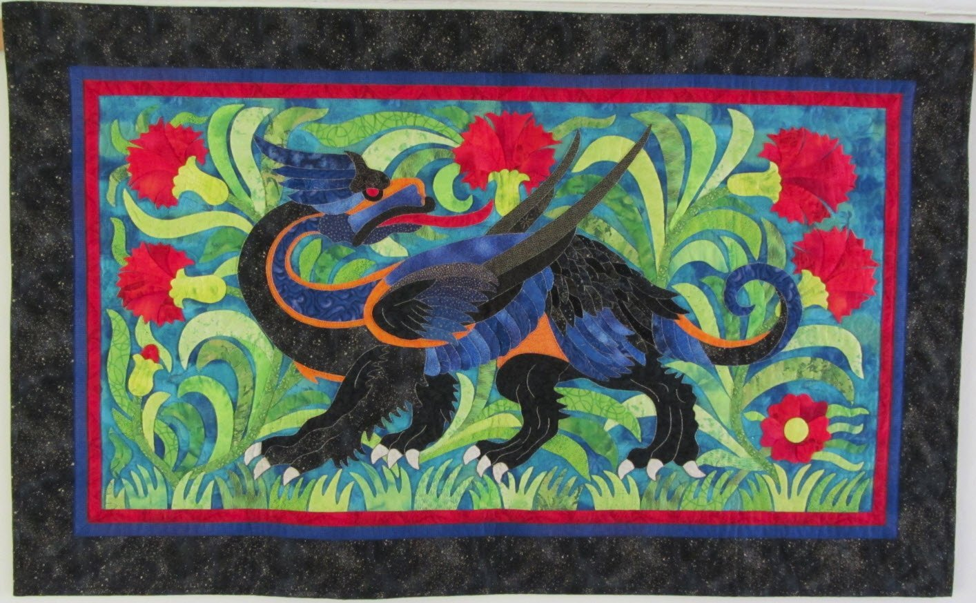 Griffin Pattern by Suzanne Marshall, a Quilt Maker
