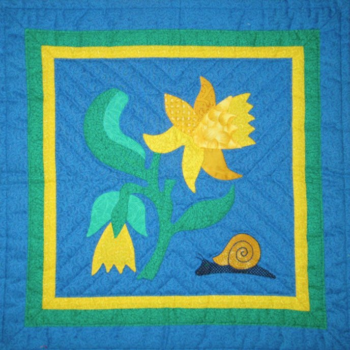 Daffodil Workshop, Suzanne Marshall Quilt Maker