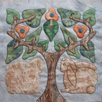 Embroidered Applique Workshop, Suzanne Marshall - A Quilt Maker