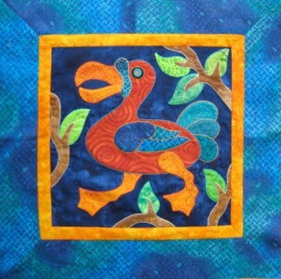 Wacky Bird Workshop by Suzanne Marshall - A Quilt Maker