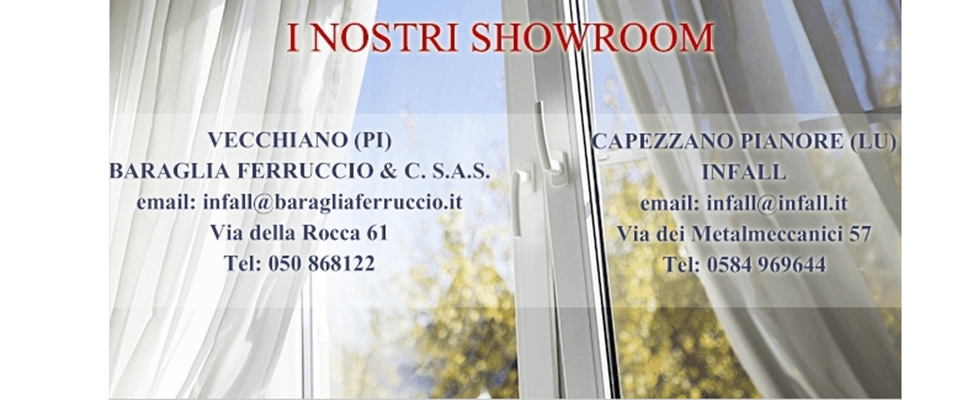 INFALL SHOWROOM