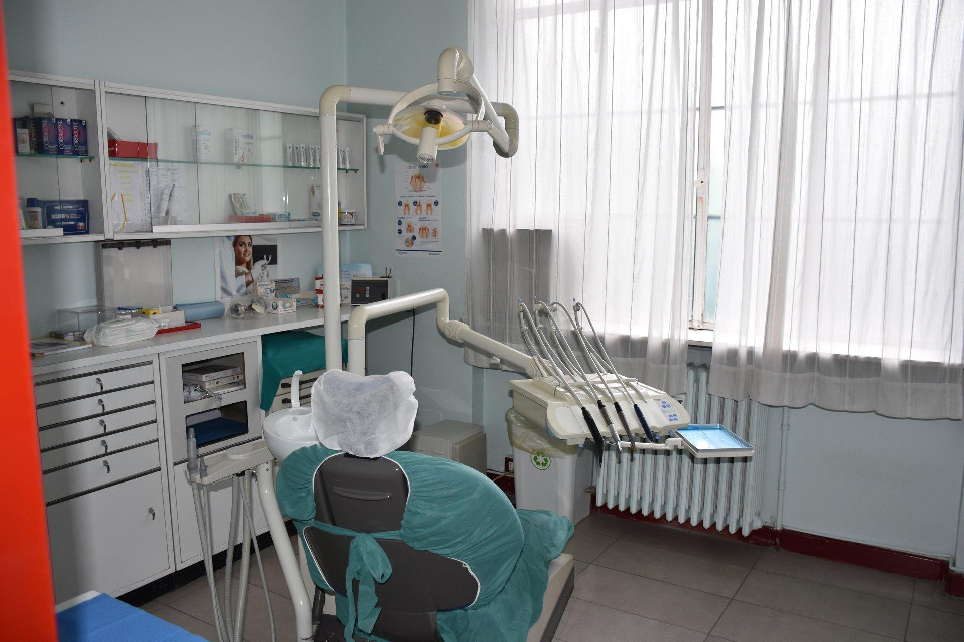 sala visite di un studio dentistico