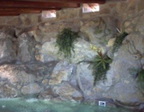 Piscina interno grotta