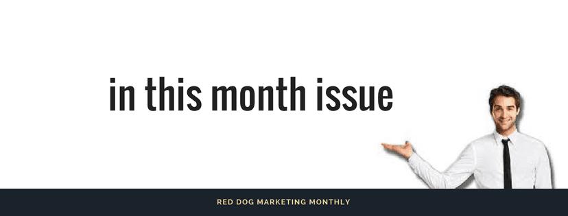 Marketing Monthly Newsletter