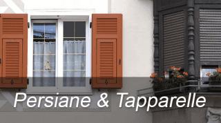 Persiane, Tapparelle