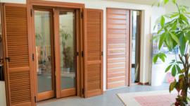 Porte finestre in legno