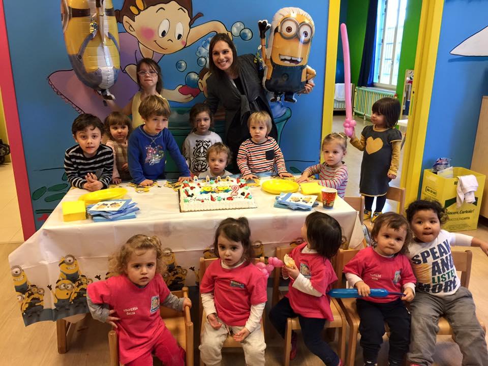 Festeggiamenti per un compleanno