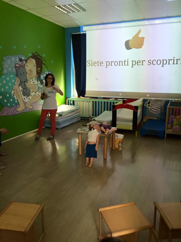 Presentazione per i bambini a Torino