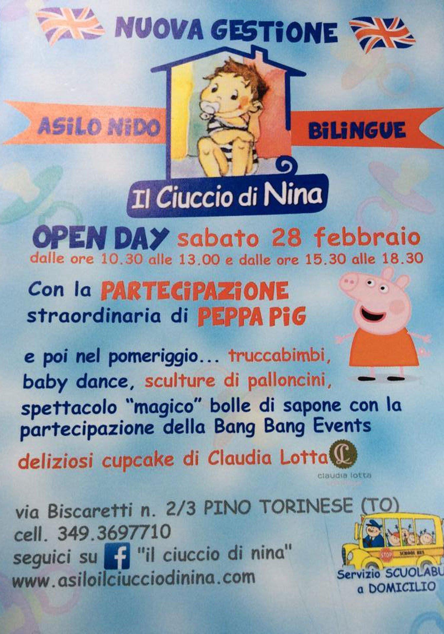 attività Il nido di Nina a Torino