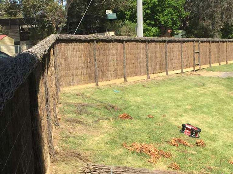 Noise Absorbing Fence And Feature Fencing In Mornington