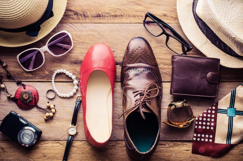 Accessori e scarpe in pelle