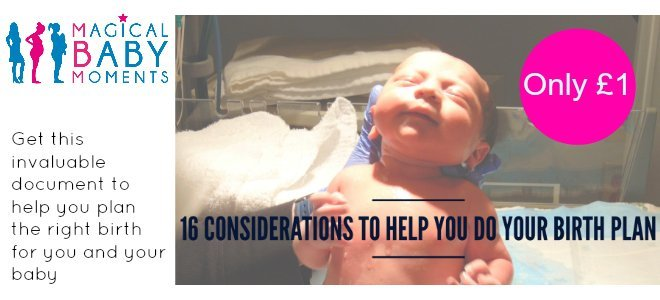 16 considerations for your birth plan image