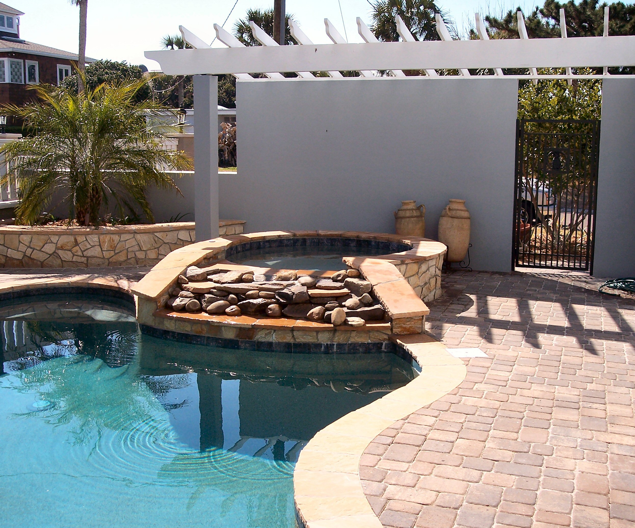 Outdoor Kitchens Fire Pits & Paver Pool Decks