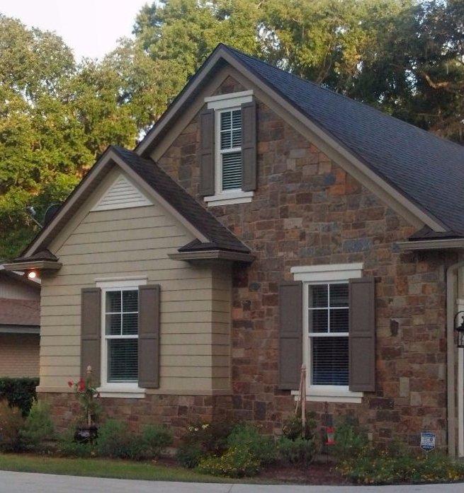stone veneer fireplaces home exteriors spas jacksonville