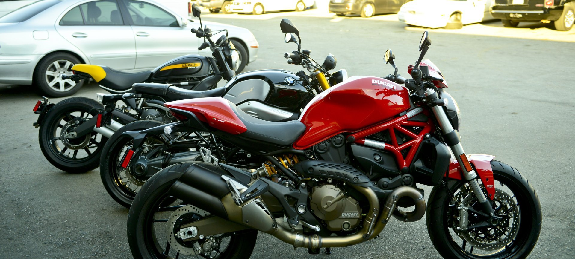 Motorcycle Rental in California Ducati Group Photos