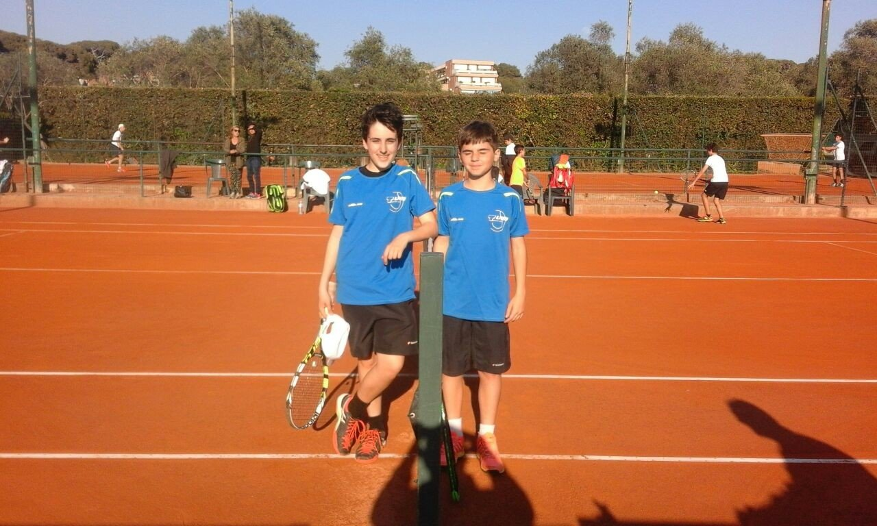 under 14 Federico Silvestri e Luca Bertoneri