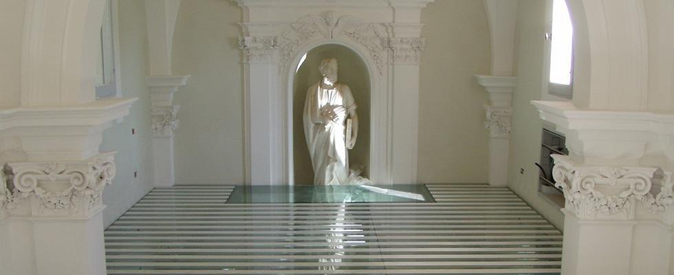 Pavimentazioni in cristallo